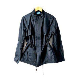 Vera Wang Anorak Blue Rain Coat Jacket Size Large